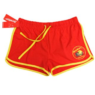 Lifeguard Retro Two Colour Red/White Shorts | Lifeguard Gear